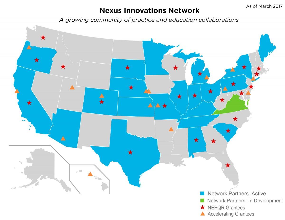 Nexus Innovations Network Map