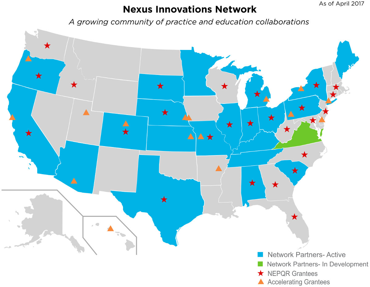 Nexus Innovations Network Map