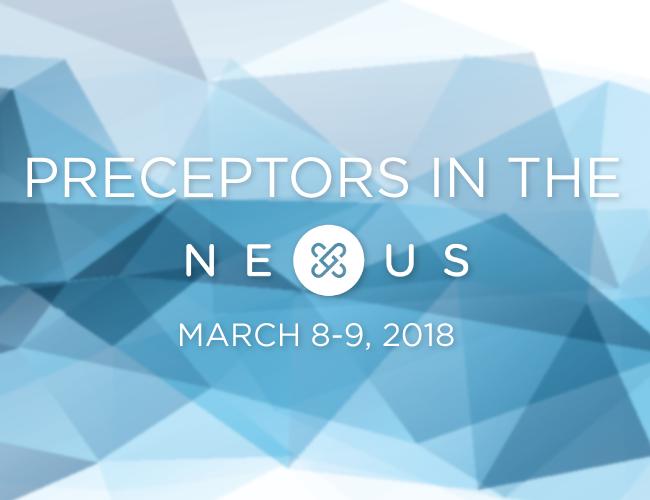 Preceptors in the Nexus Workshop